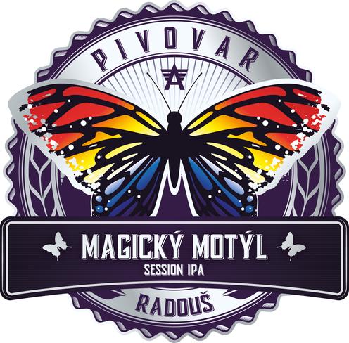 Magický motýl